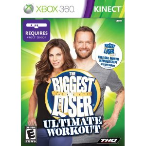 Jillian Michaels Biggest Looser Video Game for Xbox 360 Kinect